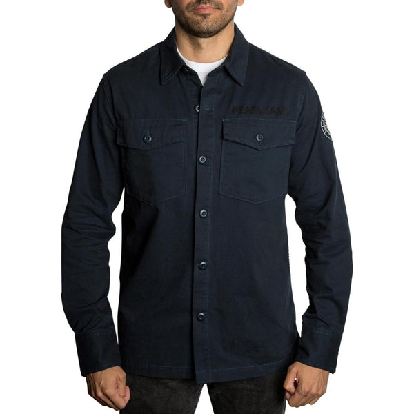PEARL JAM x BRKNarrows SEAFARER BUTTON-UP SHIRT - M
