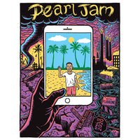 2020 PEARL JAM 4/13 SAN DIEGO EVENT POSTER
