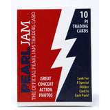2018 PEARL JAM BOSTON AWAY SHOWS TRADING CARDS PACK