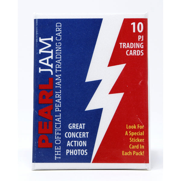 2018 PEARL JAM CHICAGO AWAY SHOWS TRADING CARDS PACK