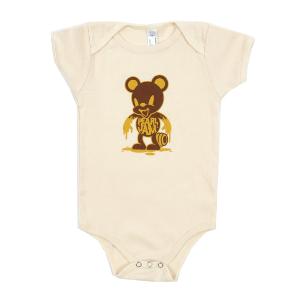 2015 PEARL JAM HONEY BEAR ONESIE - 12-18
