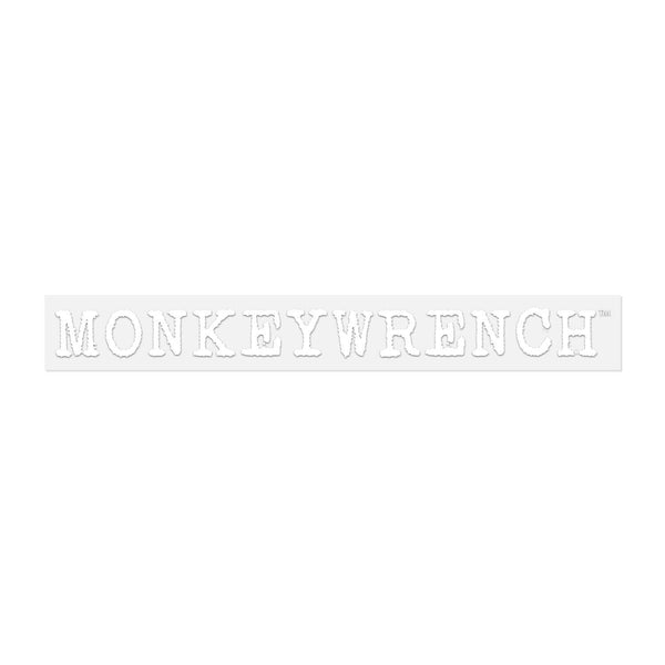 2021 MONKEYWRENCH LOGO STICKER