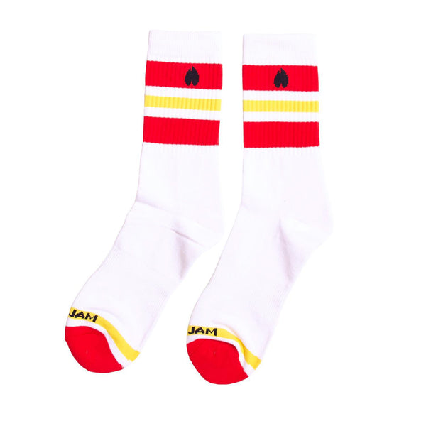2020 PEARL JAM HEART AND FLAME SOCKS