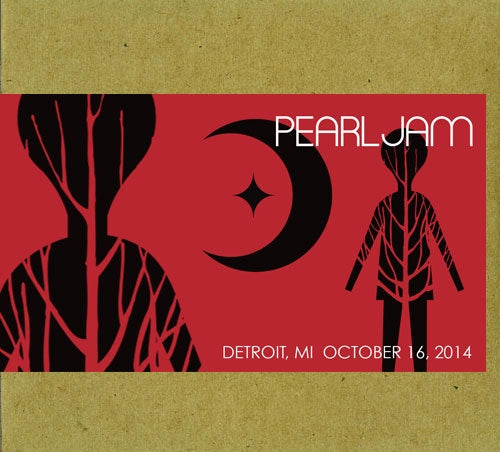 DETROIT 10/16/2014 BOOTLEG CD