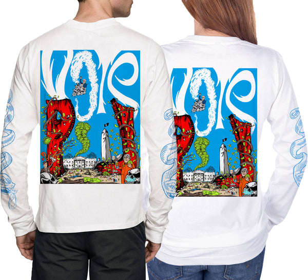 VOTER UNISEX LONG SLEEVE TEE