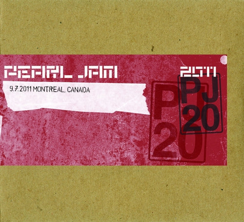 MONTREAL 9/7/2011 BOOTLEG DIGITAL DOWNLOAD - ALAC