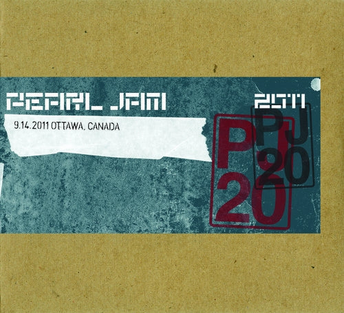 OTTAWA 9/14/2011 BOOTLEG DIGITAL DOWNLOAD - ALAC