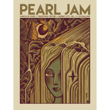 2020 PEARL JAM 3/22 QUEBEC CITY EVENT POSTER