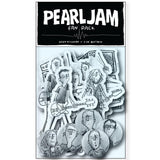 PEARL JAM TINY CONCERT STICKER AND BADGE PACK