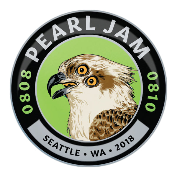 2018 SEATTLE HOME SHOWS OSPREY EVENT BADGE
