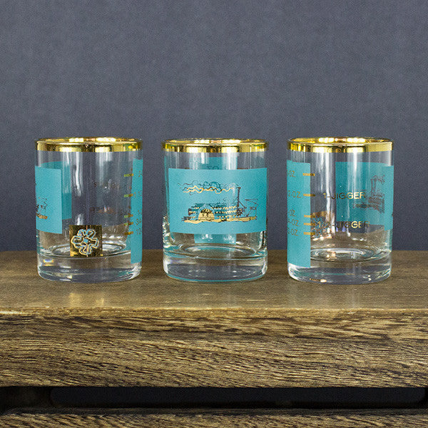 """S.C."" Shot Glasses Set"