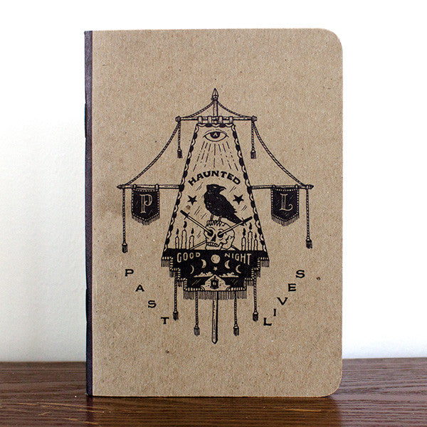 """A Haunted Good Night"" Notebook"