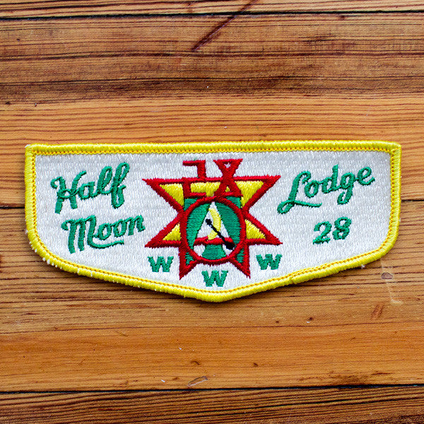 """Half Moon"" Patch"