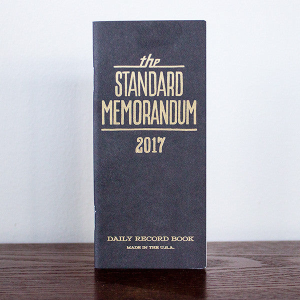 The Standard Memorandum 2017 Ed.