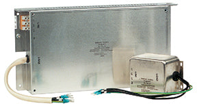 Nidec-Control Tech 4200-6207 EMC (RFI) Filter, Low Leakage, 16 Amps, 3? input, Footprint or Bookend Mount