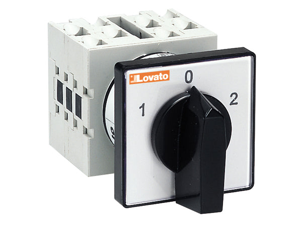 Lovato GX2051U U version front mount. Changeover switches with 0 position
