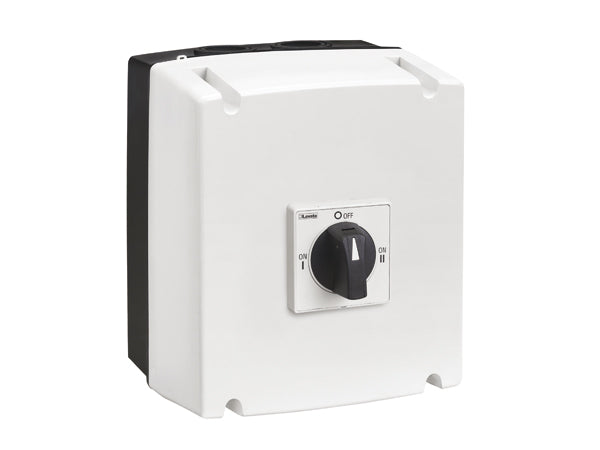 Lovato GAZ025ET8 Changeover switches in UL/CSA Type 4/4X non-metallic enclosure