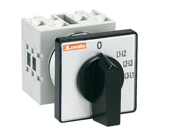 Lovato GX1697U U version front mount. Ammeter switches