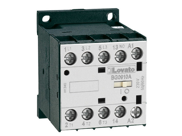 Lovato 11BG0910D024 IEC operating current Ie (AC3) = 6?12A