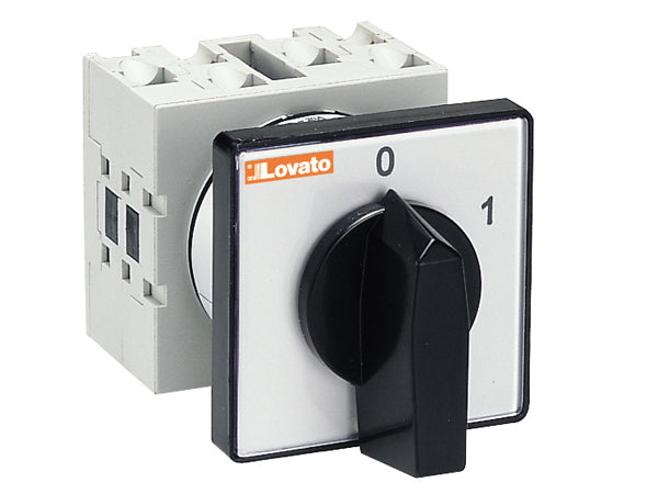 Lovato GX4010U U version front mount. ON/OFF switches