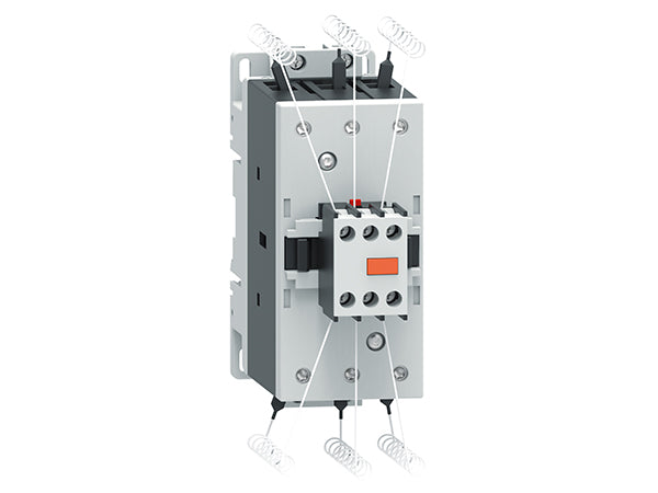 Lovato BFK5000A400 BFK contactors (including limiting resistors)