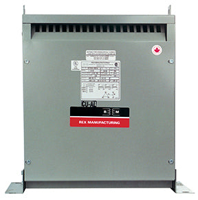 Nidec-Control Tech 8812-0011-2 Isolation Transformer, 11KVA, 230V Pri - 460V Sec, 5 % Taps, NEMA 1
