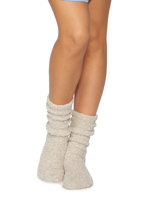 Barefoot Dreams CozyChic Heathered Womens's Socks