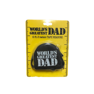 World's Greatest Dad Tape Measure