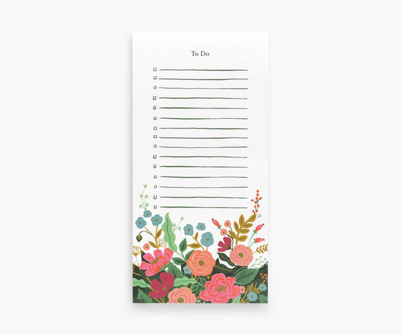 Rifle Market Pad - Floral Vines