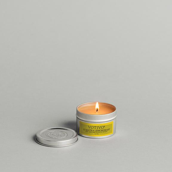 Votivo Sumatra Lemongrass 4 oz Candle