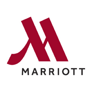 Marriott hotel company logo. It is a red M and have worked with sipeco bamboo straws