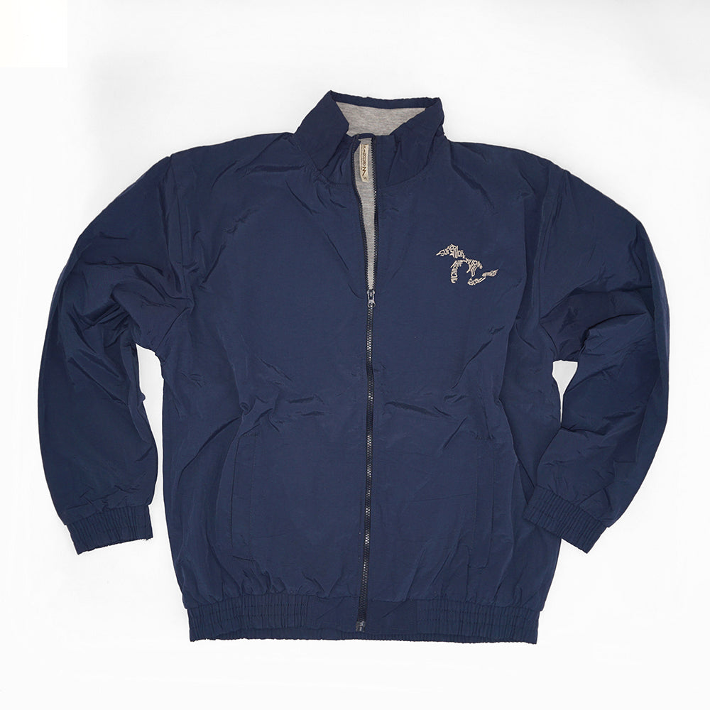 Momentum Nylon Lined Jacket - Navy