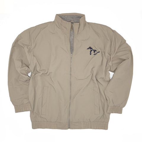Momentum Nylon Lined Jacket - Tan