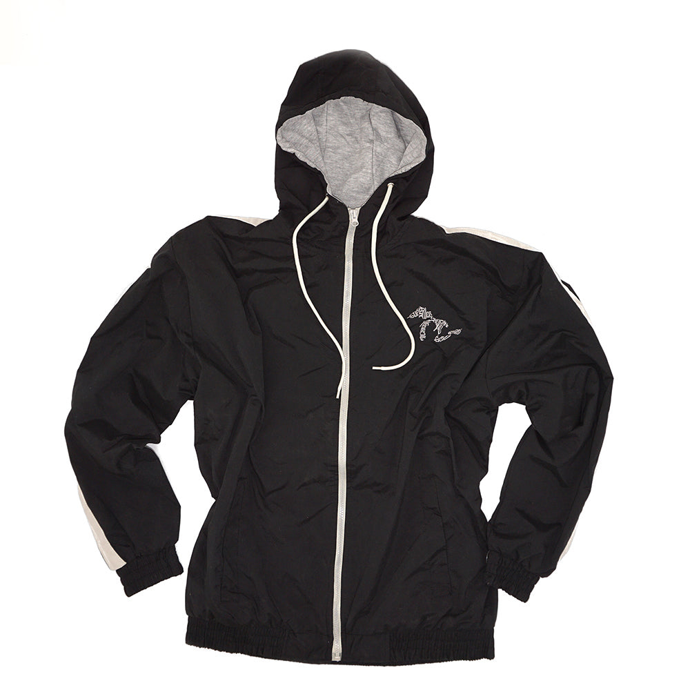 Momentum Microfiber Lined Hooded Jacket - Black