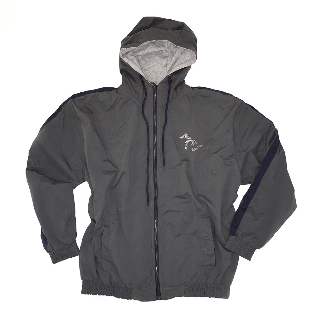 Momentum Microfiber Lined Hooded Jacket - Grey