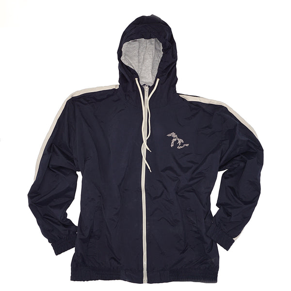 Momentum Microfiber Lined Hooded Jacket - Navy