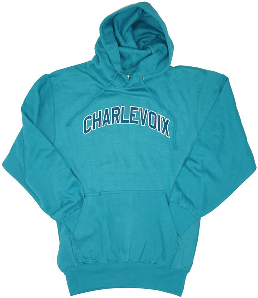 Mens Unisex Hoody- Charlevoix- 2 COLORS