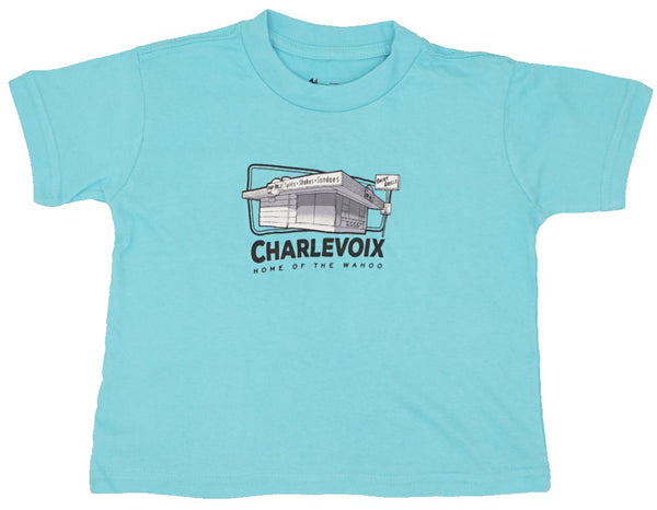 Kids Tshirt- Dairy Grille/ Home of the Wahoo!- Charlevoix