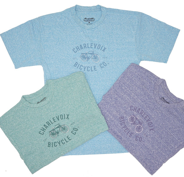 Tshirt- Charlevoix Bicycle Co. Adult/Unisex