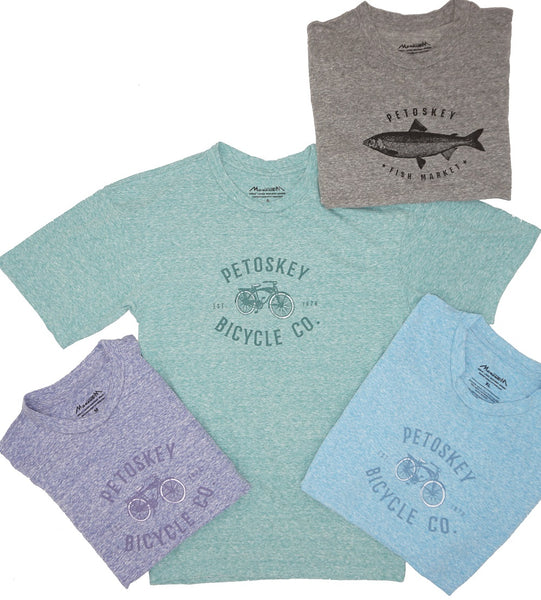Tshirt- Petoskey Bicycle Co. Adult/Unisex