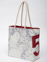"Great Lakes ""5"" Sail Bag Tote - Red"