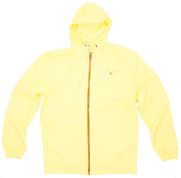 Mens Rain Jacket- Athletic Fit- SUNGLOW
