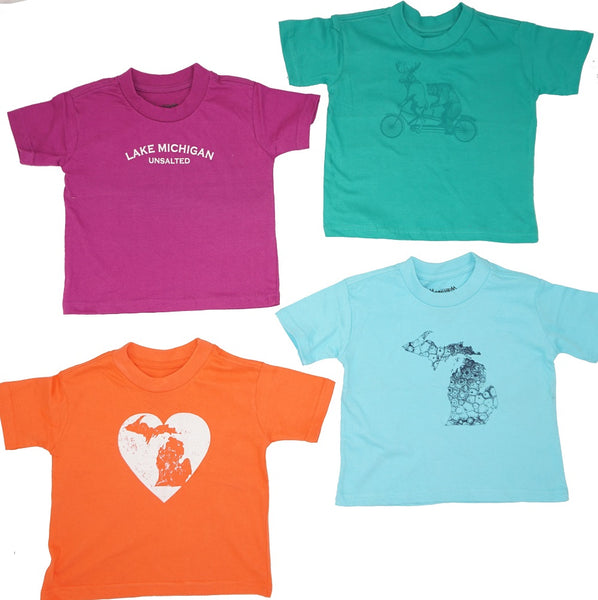 Kids Tshirts- Soft ringspun cotton & thick!