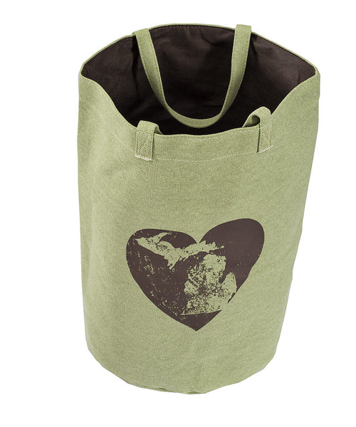 "Michigan Heart BIG Beach Bag 14""x14""x19"""