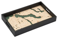 "Lake Charlevoix Serving Tray 20"" X 13"""