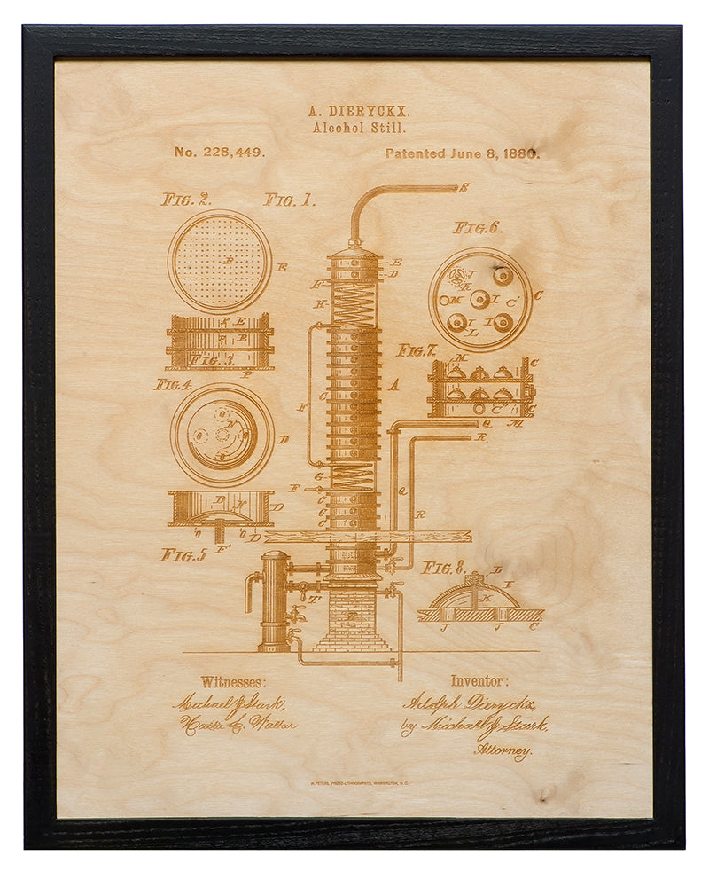 Patent Art - Alcohol Still