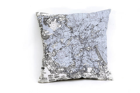 Boston Harbor Indoor/Outdoor Pillow