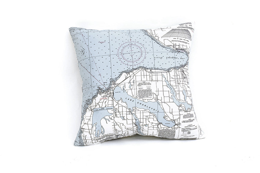 Little Traverse Bay Indoor/Outdoor Pillows