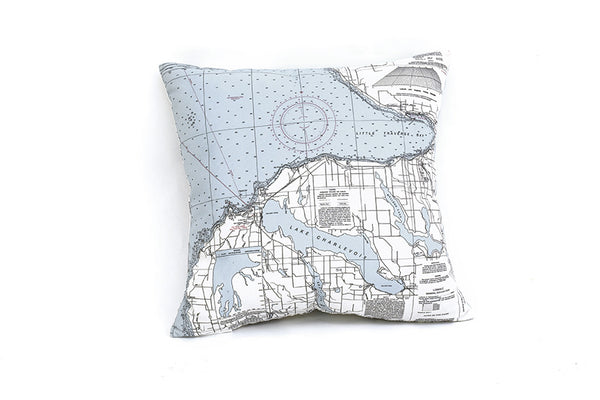 Little Traverse Bay Indoor/Outdoor Pillow