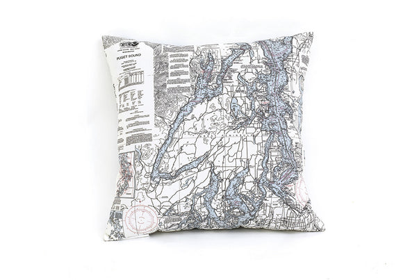 Puget Sound Indoor/Outdoor Pillow